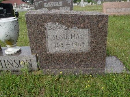 JOHNSON, SUSIE MAY (CLOSE UP) - Bradley County, Arkansas | SUSIE MAY (CLOSE UP) JOHNSON - Arkansas Gravestone Photos