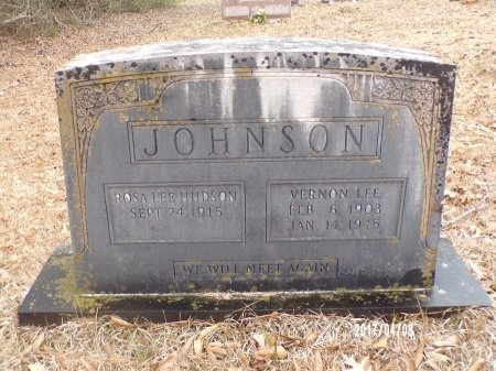 JOHNSON, VERNON LEE - Bradley County, Arkansas | VERNON LEE JOHNSON - Arkansas Gravestone Photos