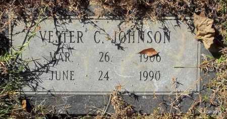 JOHNSON, VESTER C - Bradley County, Arkansas | VESTER C JOHNSON - Arkansas Gravestone Photos