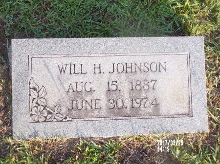 JOHNSON, WILL HUGHES - Bradley County, Arkansas | WILL HUGHES JOHNSON - Arkansas Gravestone Photos