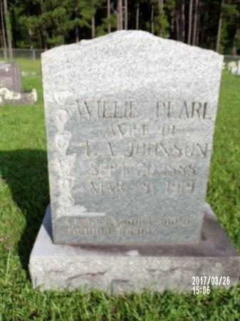 JOHNSON, WILLIE PEARL - Bradley County, Arkansas | WILLIE PEARL JOHNSON - Arkansas Gravestone Photos