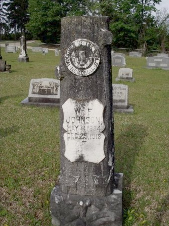 JOHNSON, WILLIAM FRED - Bradley County, Arkansas | WILLIAM FRED JOHNSON - Arkansas Gravestone Photos