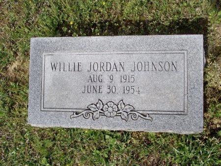 JOHNSON, WILLIE JORDAN - Bradley County, Arkansas   WILLIE JORDAN JOHNSON - Arkansas Gravestone Photos