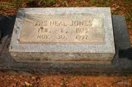 JONES, LOIS - Bradley County, Arkansas | LOIS JONES - Arkansas Gravestone Photos