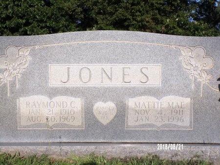 JONES, MATTIE MAE - Bradley County, Arkansas | MATTIE MAE JONES - Arkansas Gravestone Photos