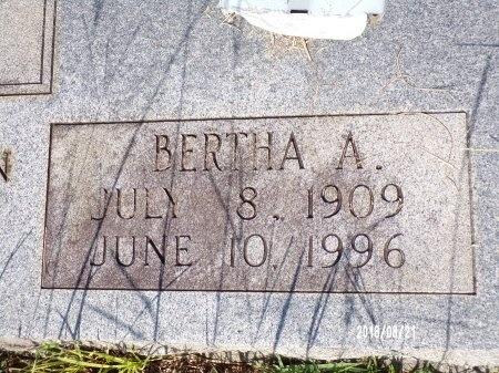 KELLEY, BERTHA A (CLOSE UP) - Bradley County, Arkansas | BERTHA A (CLOSE UP) KELLEY - Arkansas Gravestone Photos