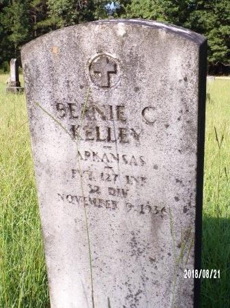 KELLEY, BERNIE C (CLOSE UP) - Bradley County, Arkansas | BERNIE C (CLOSE UP) KELLEY - Arkansas Gravestone Photos