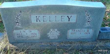 KELLEY, JR, J W - Bradley County, Arkansas | J W KELLEY, JR - Arkansas Gravestone Photos