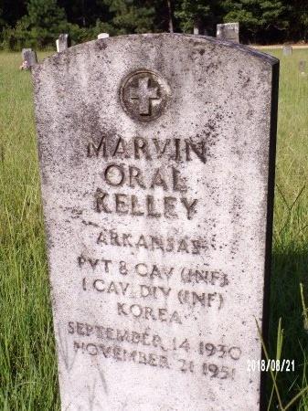 KELLEY, MARVIN ORAL - Bradley County, Arkansas | MARVIN ORAL KELLEY - Arkansas Gravestone Photos