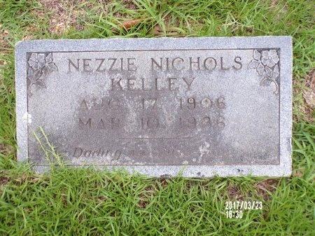 KELLEY, NEZZIE - Bradley County, Arkansas   NEZZIE KELLEY - Arkansas Gravestone Photos