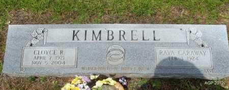 KIMBRELL, CLOY E R - Bradley County, Arkansas | CLOY E R KIMBRELL - Arkansas Gravestone Photos