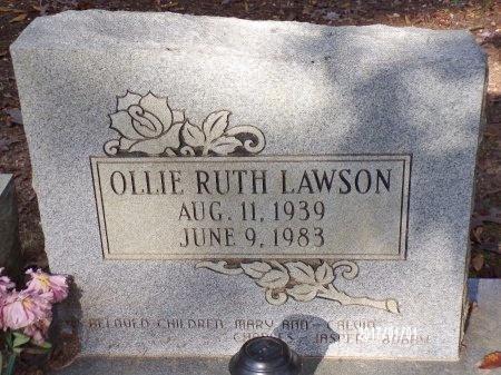 LAWSON, OLLIE RUTH - Bradley County, Arkansas | OLLIE RUTH LAWSON - Arkansas Gravestone Photos