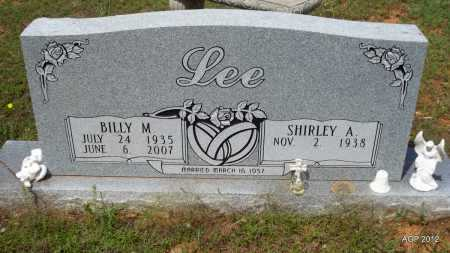 LEE, BILLY M - Bradley County, Arkansas | BILLY M LEE - Arkansas Gravestone Photos