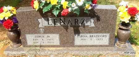 LENARZ, LEROY - Bradley County, Arkansas   LEROY LENARZ - Arkansas Gravestone Photos
