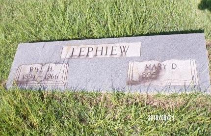 LEPHIEW, MARY - Bradley County, Arkansas | MARY LEPHIEW - Arkansas Gravestone Photos