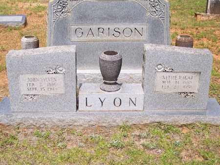 LYON, NETTIE - Bradley County, Arkansas | NETTIE LYON - Arkansas Gravestone Photos