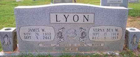 LYON, VERNA BEA W - Bradley County, Arkansas | VERNA BEA W LYON - Arkansas Gravestone Photos