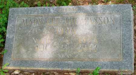 LYON, MARY LEE - Bradley County, Arkansas | MARY LEE LYON - Arkansas Gravestone Photos