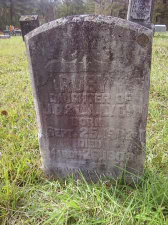 LYON, RUBY - Bradley County, Arkansas | RUBY LYON - Arkansas Gravestone Photos