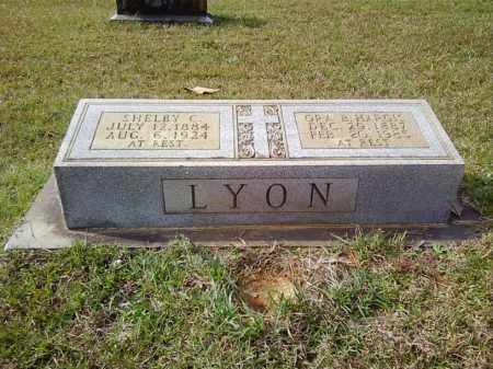 LYON, SHELBY C - Bradley County, Arkansas | SHELBY C LYON - Arkansas Gravestone Photos