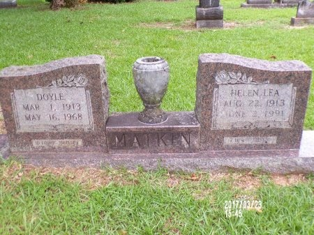 MATKIN, HELEN LEA - Bradley County, Arkansas | HELEN LEA MATKIN - Arkansas Gravestone Photos