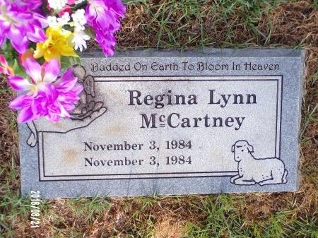 MCCARTNEY, REGINA LYNN - Bradley County, Arkansas | REGINA LYNN MCCARTNEY - Arkansas Gravestone Photos