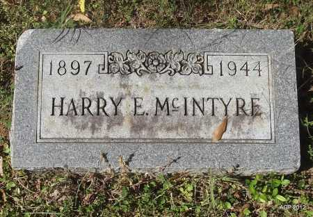 MCINTYRE, HARRY E - Bradley County, Arkansas | HARRY E MCINTYRE - Arkansas Gravestone Photos
