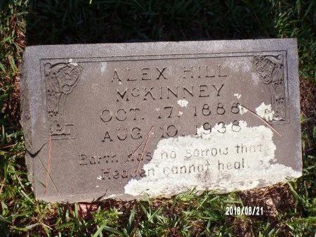 MCKINNEY, ALEX HILL - Bradley County, Arkansas | ALEX HILL MCKINNEY - Arkansas Gravestone Photos