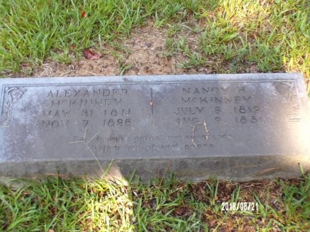 MCKINNEY, NANCY HILL - Bradley County, Arkansas | NANCY HILL MCKINNEY - Arkansas Gravestone Photos