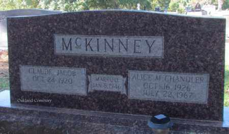 MCKINNEY, ALICE M - Bradley County, Arkansas | ALICE M MCKINNEY - Arkansas Gravestone Photos