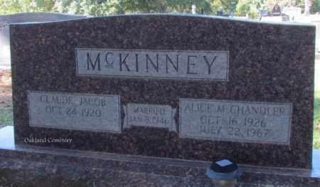 MCKINNEY, CLAUDE JACOB - Bradley County, Arkansas | CLAUDE JACOB MCKINNEY - Arkansas Gravestone Photos