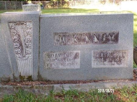 MCKINNEY, DAVID EDGAR - Bradley County, Arkansas | DAVID EDGAR MCKINNEY - Arkansas Gravestone Photos