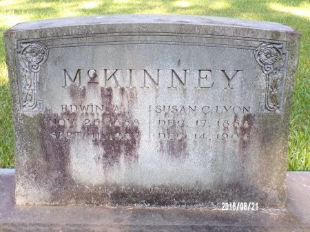 MCKINNEY, EDWIN ALONZO - Bradley County, Arkansas | EDWIN ALONZO MCKINNEY - Arkansas Gravestone Photos