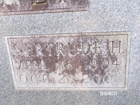 MCKINNEY, GERTRUDE (CLOSE UP) - Bradley County, Arkansas | GERTRUDE (CLOSE UP) MCKINNEY - Arkansas Gravestone Photos