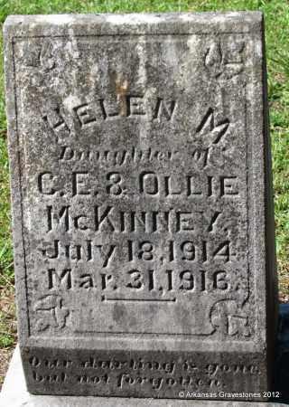 MCKINNEY, HELEN M - Bradley County, Arkansas | HELEN M MCKINNEY - Arkansas Gravestone Photos
