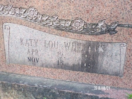 MCKINNEY, KATY LOU (CLOSE UP) - Bradley County, Arkansas | KATY LOU (CLOSE UP) MCKINNEY - Arkansas Gravestone Photos