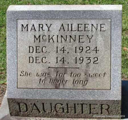 MCKINNEY, MARY ALEENE - Bradley County, Arkansas | MARY ALEENE MCKINNEY - Arkansas Gravestone Photos