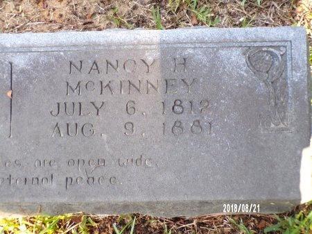 MCKINNEY, NANCY HILL (CLOSE UP) - Bradley County, Arkansas   NANCY HILL (CLOSE UP) MCKINNEY - Arkansas Gravestone Photos