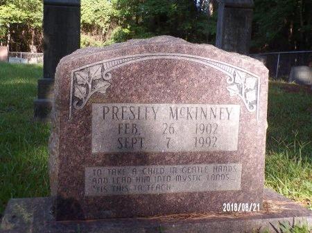MCKINNEY, PRESLEY - Bradley County, Arkansas   PRESLEY MCKINNEY - Arkansas Gravestone Photos