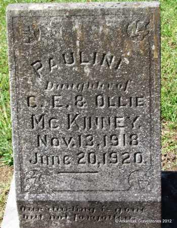 MCKINNEY, PAULINE - Bradley County, Arkansas | PAULINE MCKINNEY - Arkansas Gravestone Photos