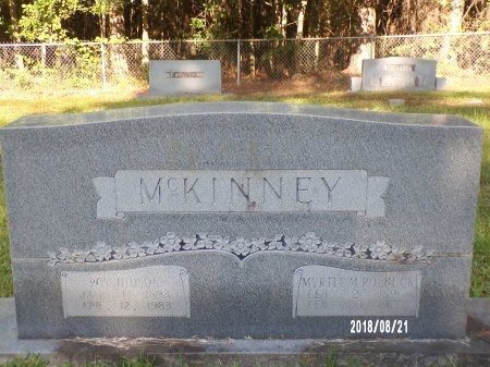 MCKINNEY, MYRTLE MARY - Bradley County, Arkansas | MYRTLE MARY MCKINNEY - Arkansas Gravestone Photos