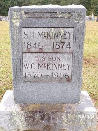 MCKINNEY, SAMUEL H - Bradley County, Arkansas | SAMUEL H MCKINNEY - Arkansas Gravestone Photos