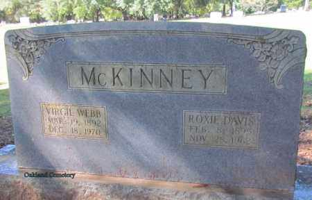 MCKINNEY, ROXIE - Bradley County, Arkansas | ROXIE MCKINNEY - Arkansas Gravestone Photos