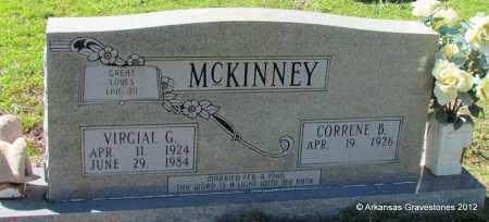 MCKINNEY, VIRGIAL G - Bradley County, Arkansas | VIRGIAL G MCKINNEY - Arkansas Gravestone Photos