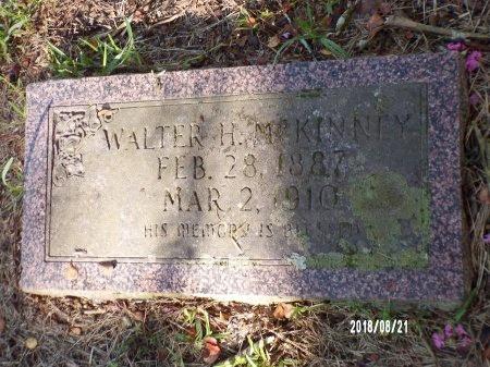 MCKINNEY, WALTER H - Bradley County, Arkansas | WALTER H MCKINNEY - Arkansas Gravestone Photos