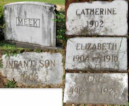 MEEK, INFANT SON - Bradley County, Arkansas | INFANT SON MEEK - Arkansas Gravestone Photos