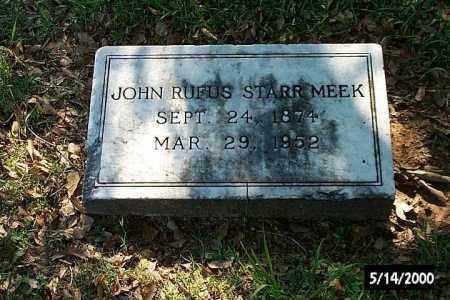 MEEK, JOHN RUFUS STARR - Bradley County, Arkansas | JOHN RUFUS STARR MEEK - Arkansas Gravestone Photos