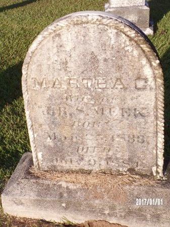 MEEK, MARTHA CATHERINE (CLOSE UP) - Bradley County, Arkansas | MARTHA CATHERINE (CLOSE UP) MEEK - Arkansas Gravestone Photos