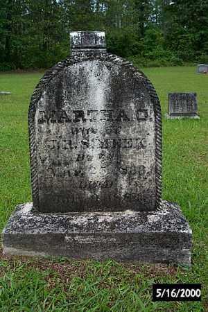 MEEK, MARTHA CATHERINE - Bradley County, Arkansas   MARTHA CATHERINE MEEK - Arkansas Gravestone Photos