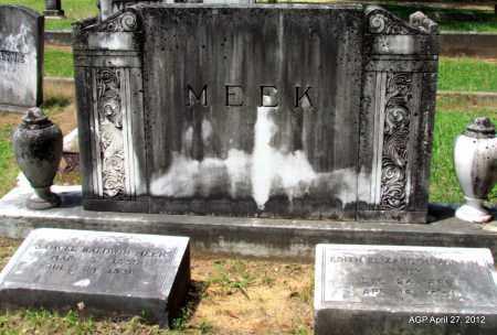 MEEK, EDITH ELIZABETH - Bradley County, Arkansas | EDITH ELIZABETH MEEK - Arkansas Gravestone Photos